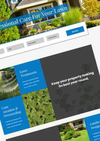 Certified Lawns WordPress Web Design and Development